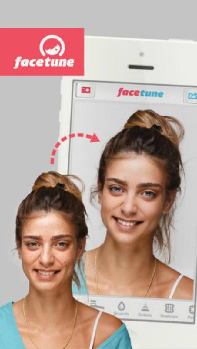 2 facetune Digital Up: Najbolje aplikacije za sređivanje fotografija