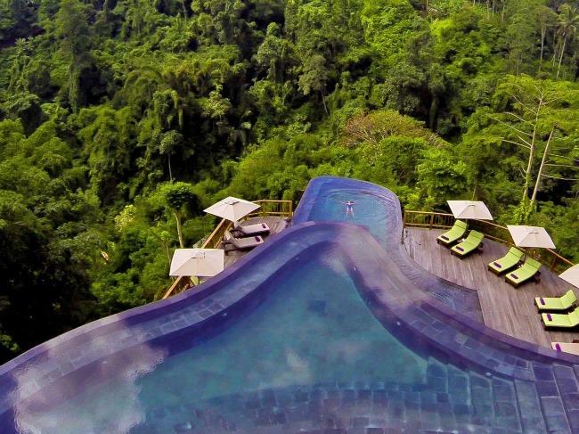 3 Hanging Gardens Indonesia Put oko sveta: Najlepši bazeni koje morate posetiti