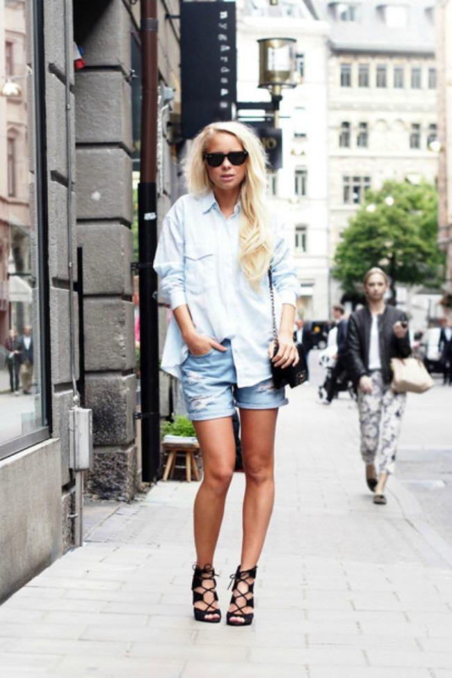 4 Viktorija Tornegren Modne blogerke nose: Šortseve različitih dužina