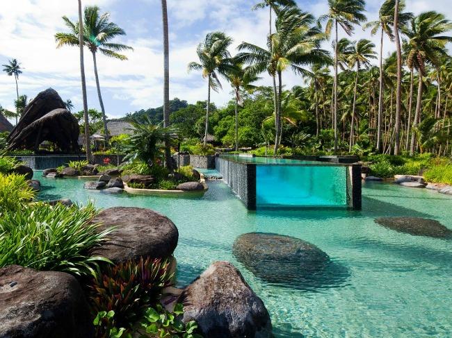 5 Laucala Island Resort Fiji Put oko sveta: Najlepši bazeni koje morate posetiti