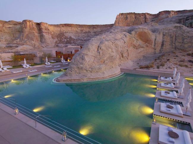 6 Amangiri resort Utah Put oko sveta: Najlepši bazeni koje morate posetiti