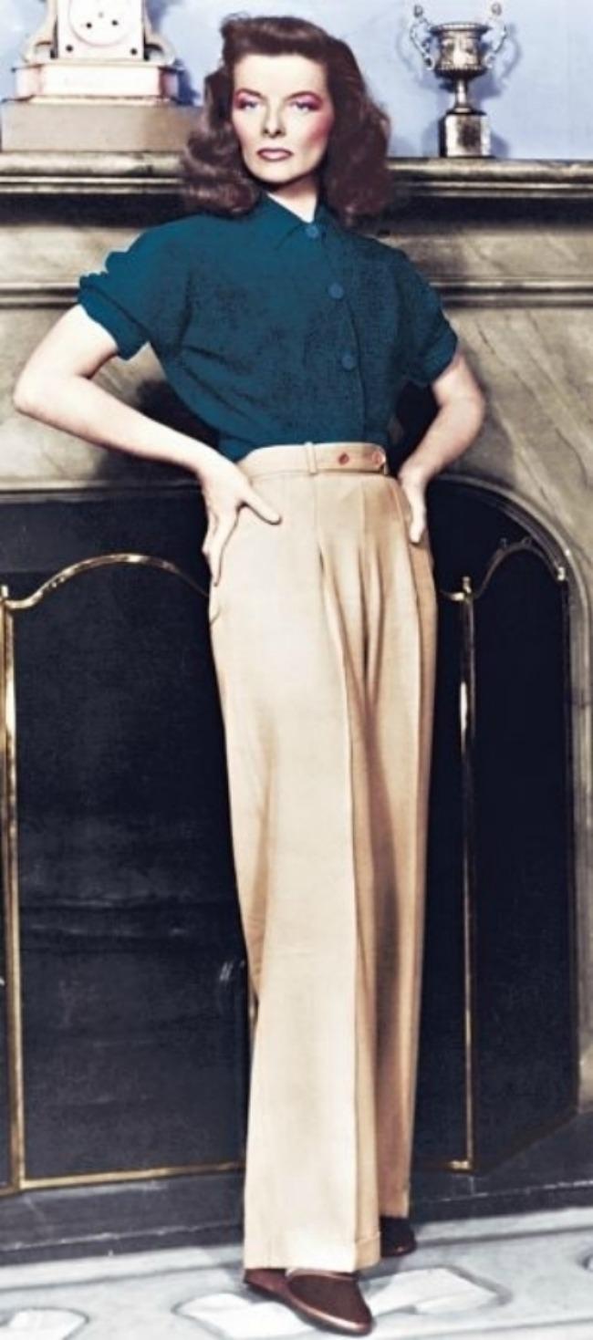 8 Nosite pantalone Modne lekcije velikih ikona stila: Detalji, glamur i atributi