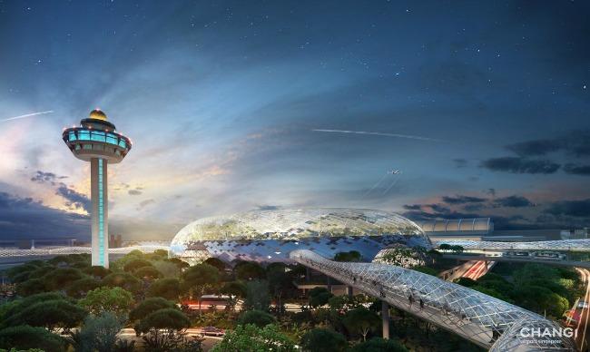 Aerodrom 1 Oko sveta: Neverovatan aerodrom u Singapuru