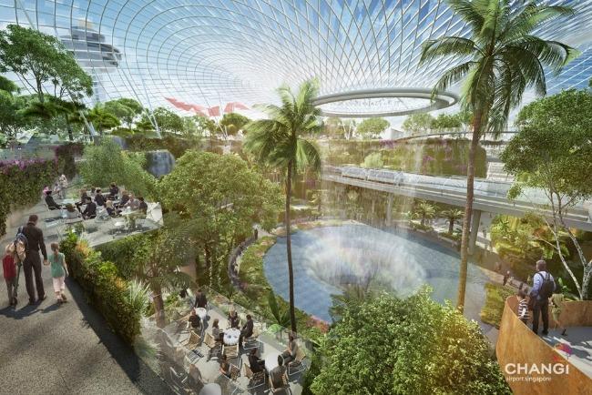 Aerodrom 2 Oko sveta: Neverovatan aerodrom u Singapuru