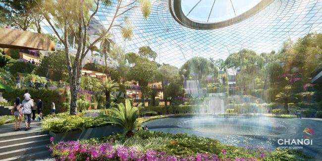 Aerodrom 3 Oko sveta: Neverovatan aerodrom u Singapuru