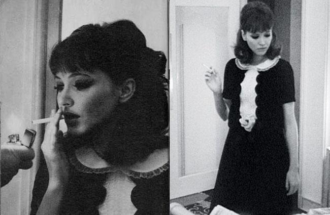 Ana Karina u filmu Alphaville Moda i film: Godarove dive