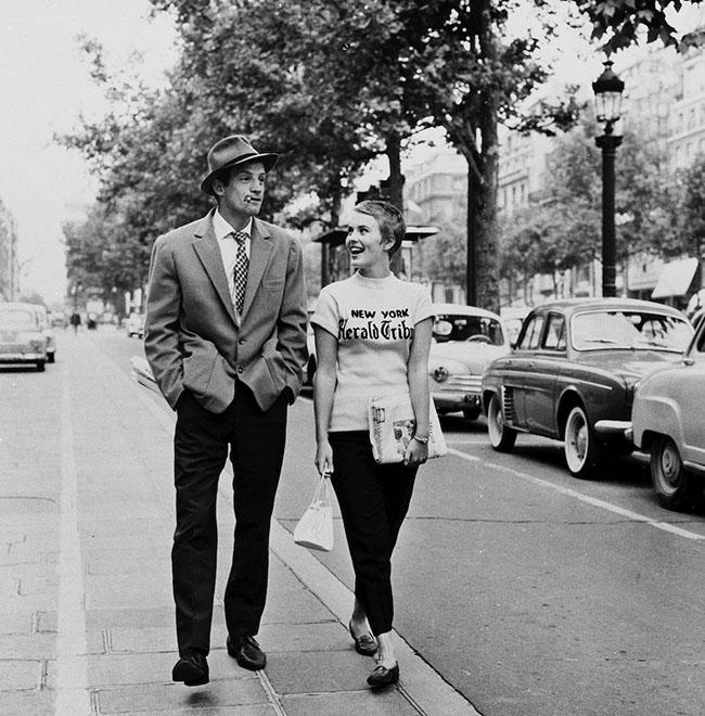 Belmondo i Seberg u filmu Do poslednjeg daha 2 Moda i film: Godarove dive