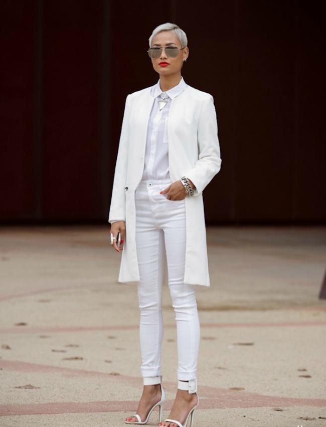 Belo odelo Tips of the Week: Šik u belim cipelama