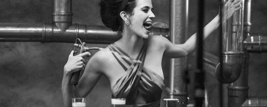Eva Grin zvezda Campari kalendara za 2015. godinu
