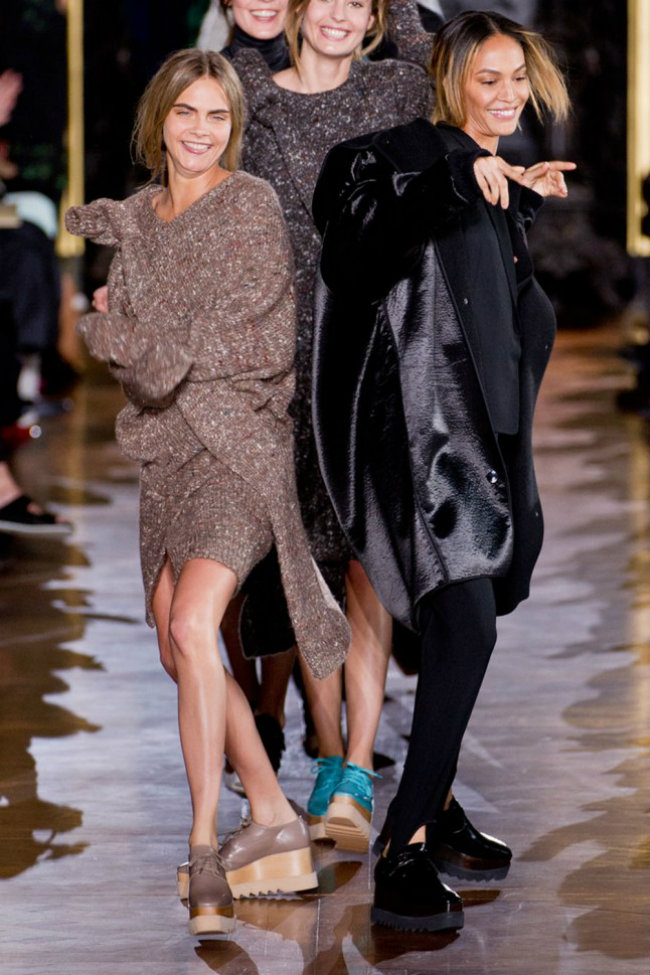 Cara Delevingne Stella McCartney AW14 P Trendovanje: Komadi koje moraš imati