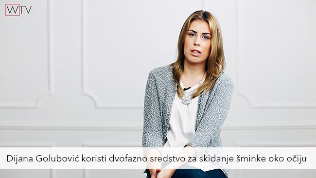 Dijana Golubovic Kako da negujem lice: Čišćenje lica normalnog i mešovitog tipa kože