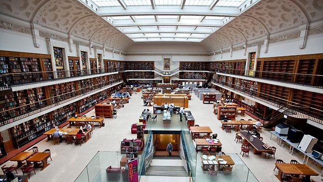 Drzavna biblioteka Novog Juznog Velsa Sidnej Novi Juzni Vels 10 najlepših biblioteka širom Australije