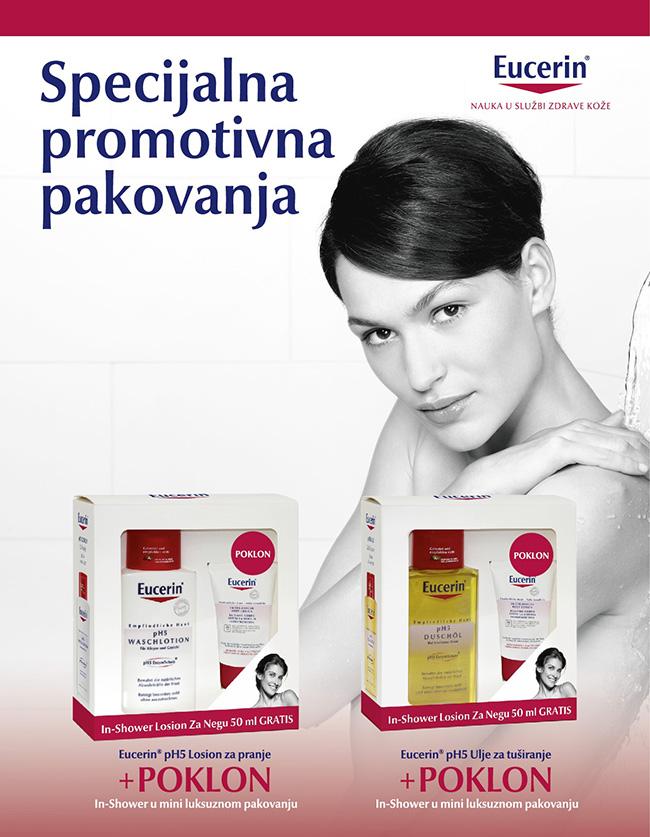 Eucerin pH5 kopak Poklonite svojoj koži sve što joj je potrebno – poklonite joj Eucerin®