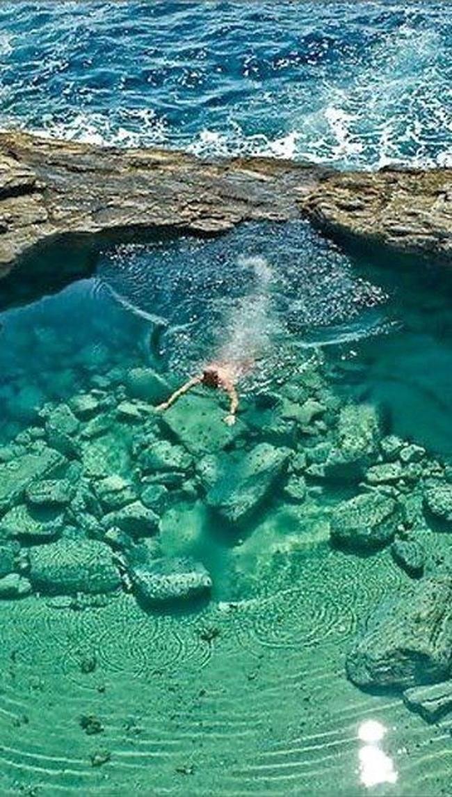 Giogla Lagoon Thasos Put pod noge: Fotografije zbog kojih ćete želeti da posetite Grčku