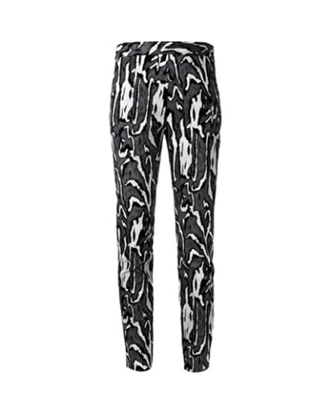 Grafički print3 Ove jeseni nosimo pantalone sa grafičkim printom