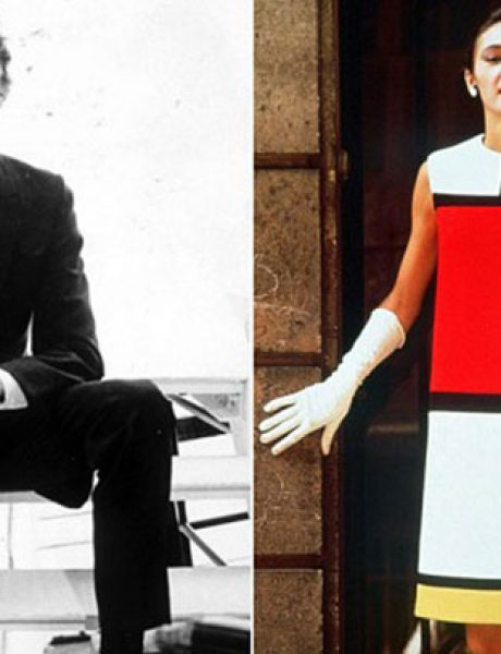 Modne kolekcije inspirisane slikarima: Iv Sen Loran i Mondrijan kolekcija