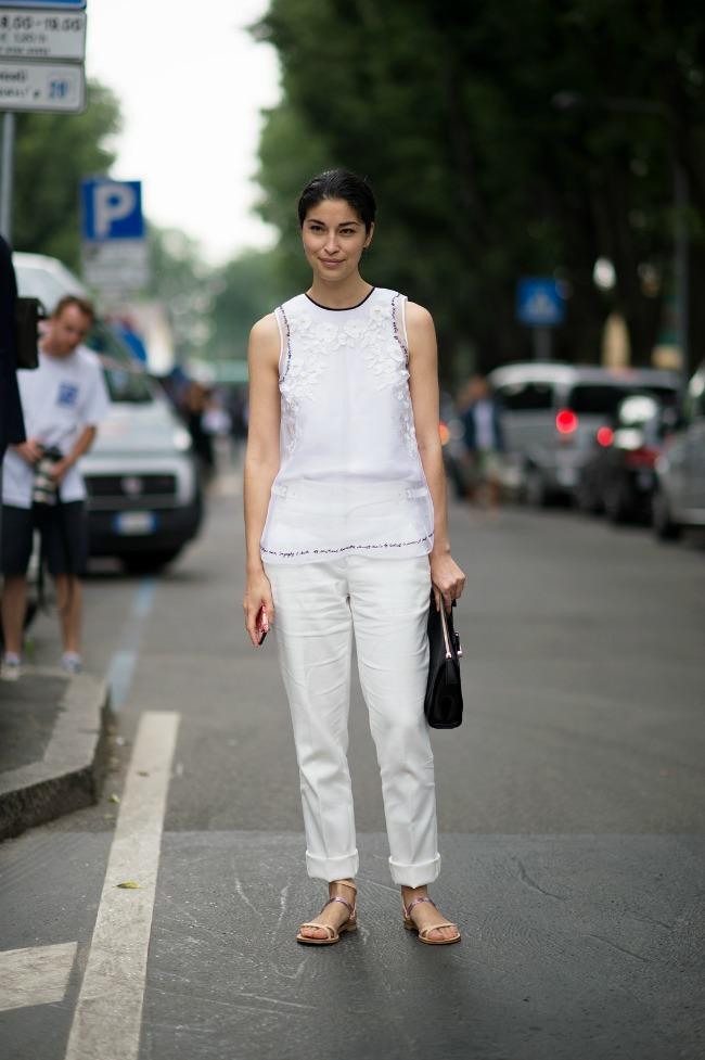 Kombinacija 2 Trend alarm: Bela boja je uvek odličan izbor