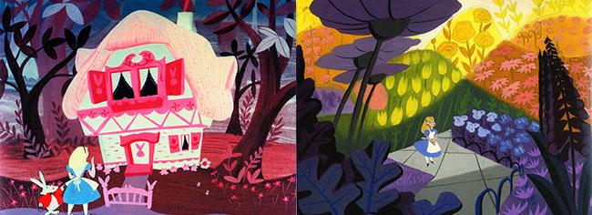 Meri Bler Alisa u Zemlji cuda Svet ilustracije: Volt Diznijeva Meri Bler