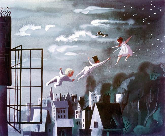 Meri Bler Petar Pan Svet ilustracije: Volt Diznijeva Meri Bler