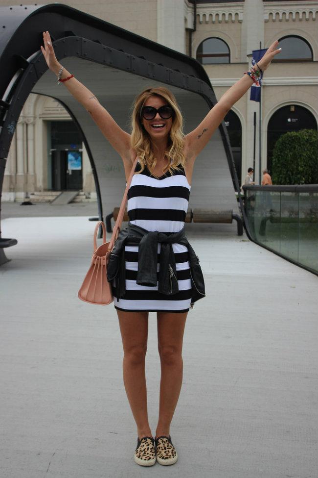 Modne blogerke nose ovih dana Mornarski stil 5 Modne blogerke nose ovih dana: Mornarski stil