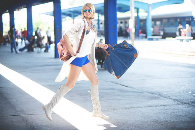 Modne blogerke nose ovih dana Mornarski stil Modne blogerke nose ovih dana: Mornarski stil