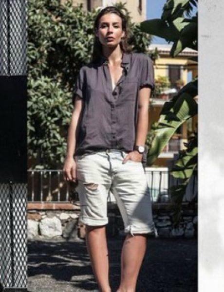 Modne blogerke nose: Šortseve različitih dužina