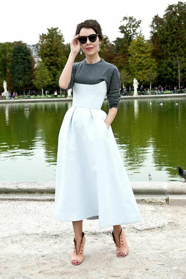 Modni trend Majice ispod haljina 5 Modni trend: Šta se nosi ispod haljina