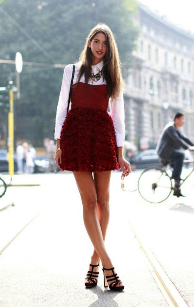 Modni trend Majice ispod haljina 7 Modni trend: Šta se nosi ispod haljina