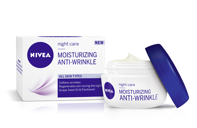 NIVEA moisturizing anti wrinkle nocna Koža i nega: NIVEA hidratantne kreme protiv bora