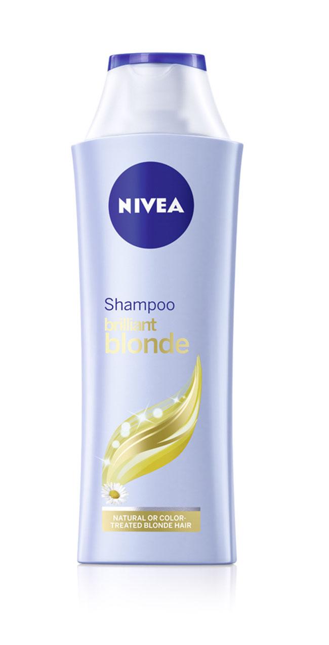 NIVEA Brilliant Blonde Shampoo Intenzivna nega: Sjajna boja i meka kosa
