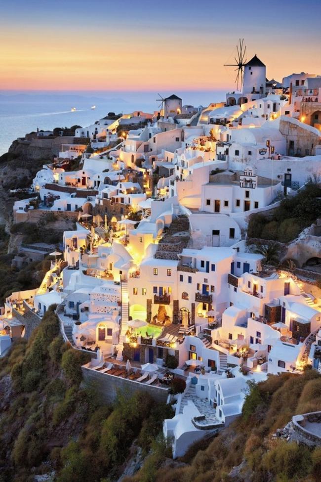 Oia Santorini Grčka Put pod noge: Fotografije zbog kojih ćete želeti da posetite Grčku