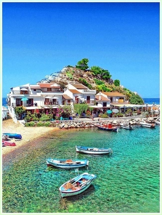 Samos Grčka Put pod noge: Fotografije zbog kojih ćete želeti da posetite Grčku