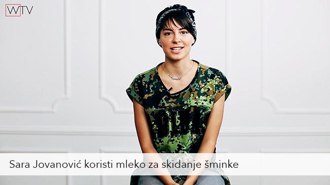 Sara Jovanovic Kako da negujem lice: Čišćenje lica normalnog i mešovitog tipa kože