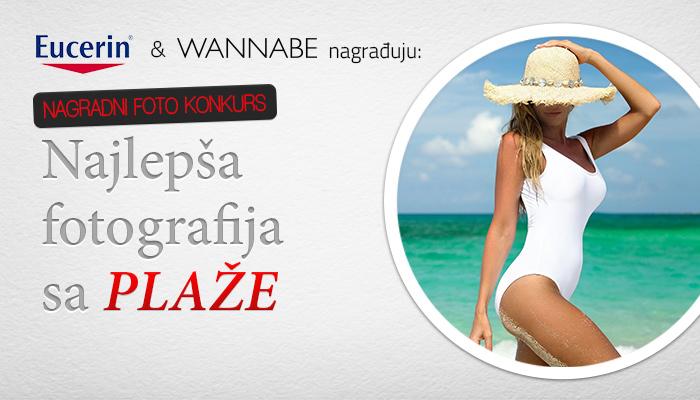 "Slika sa plaze WB Bride Najava 1 Eucerin & Wannabe nagrađuju: ""Najlepša fotografija sa plaže"""