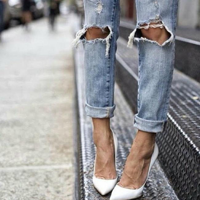 Stepenice Tips of the Week: Šik u belim cipelama