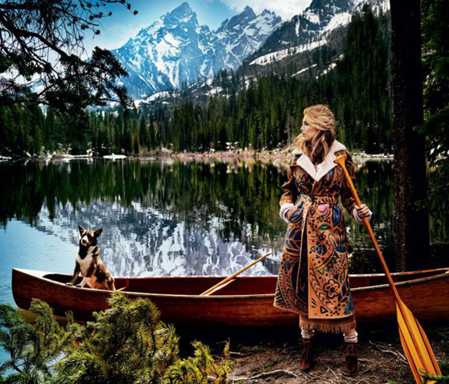 Vogue Pod modnom lupom: Avgustovska izdanja