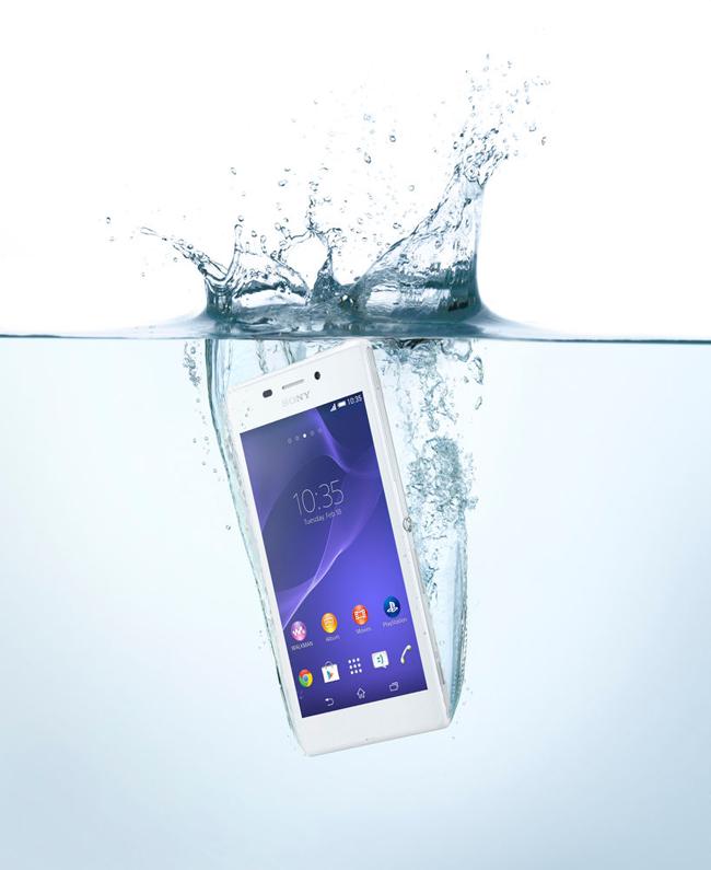 Xperia™ M2 Aqua vodootpornii pametni telefon za svakoga 2 Xperia™ M2 Aqua, vodootporni pametni telefon za svakoga