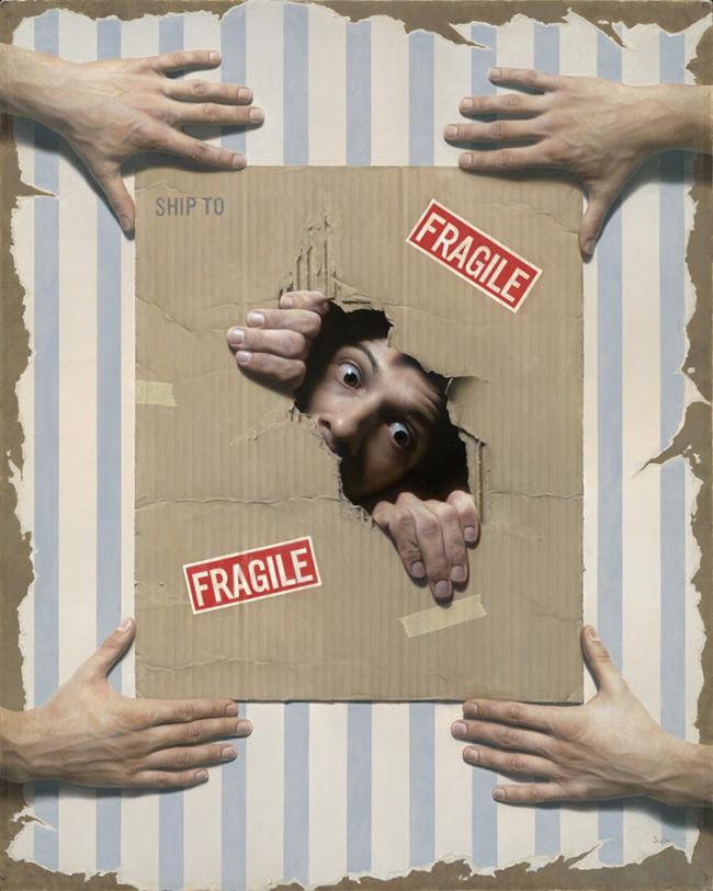 dzosua suda hiperrealisticni slikar slika 8 Hiperrealistično slikarstvo: Ovo nisu fotografije!