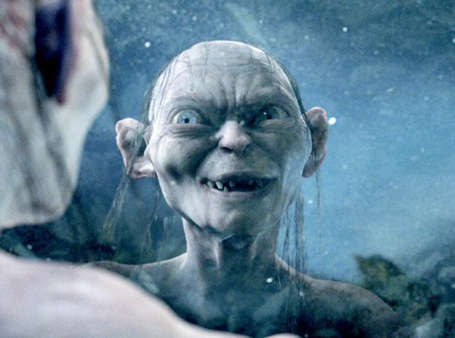 endi serkis kao golum u filmu gospodar prstenova dve kule Svet filma: 10 najvećih glumačkih transformacija