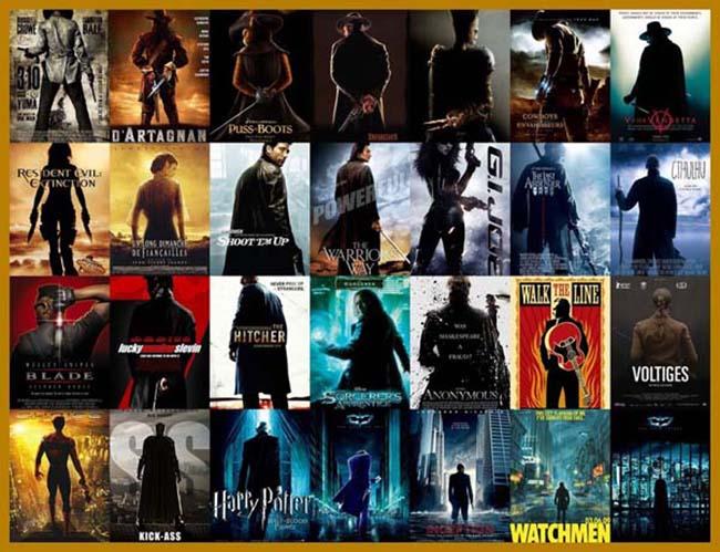 filmski posteri 2 Filmski posteri: Neoriginalnost u filmskoj industriji