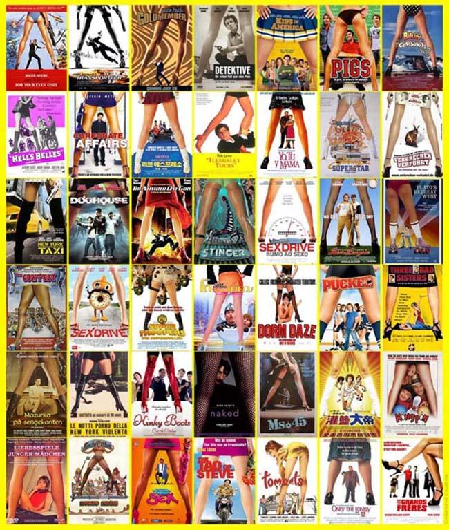 filmski posteri 6 Filmski posteri: Neoriginalnost u filmskoj industriji