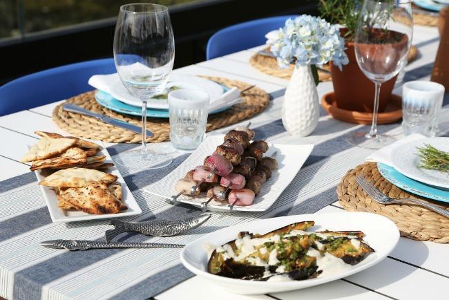 grcka trpeza1 Grčka trpeza: Obroci po meri bogova