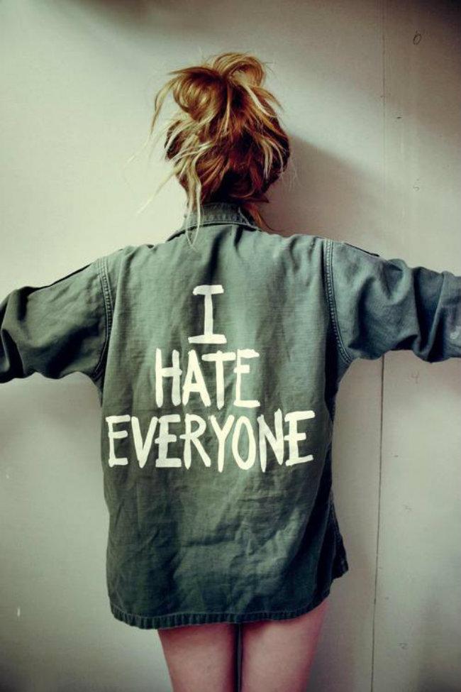 i hate everyone shirt 4310 Kako mržnja može biti dobra stvar