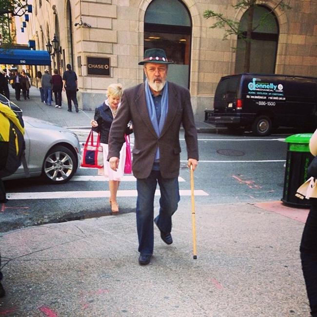 I starija gospoda sa stilom imaju Instagram