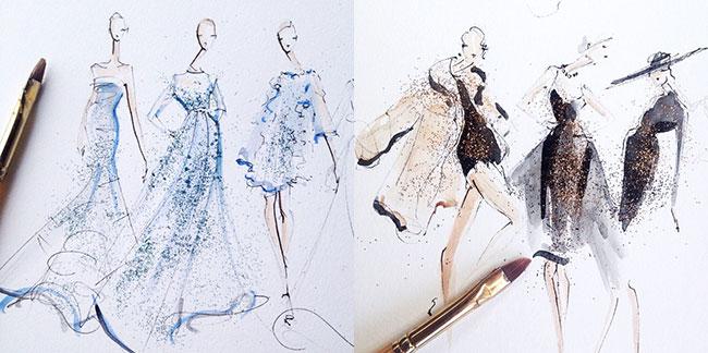 jeanette getrost 2 Modna ilustracija: Žanet Getrost