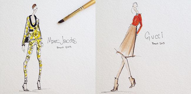 jeanette getrost 3 Modna ilustracija: Žanet Getrost