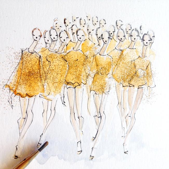 jeanette getrost 5 Modna ilustracija: Žanet Getrost