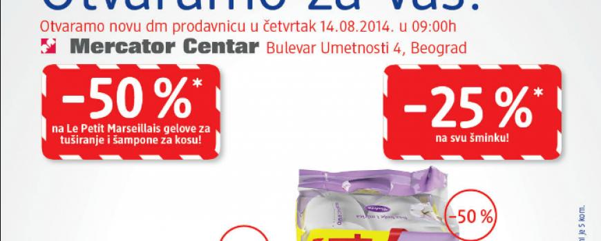 Nova dm drogerija na Novom Beogradu