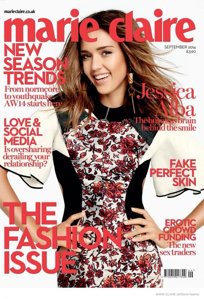 modne vesti dzesika alba victorias secret dzordzija mej dzeger marie claire naslovnica Modne vesti: Džesika Alba, Victorias Secret i Džordžija Mej Džeger
