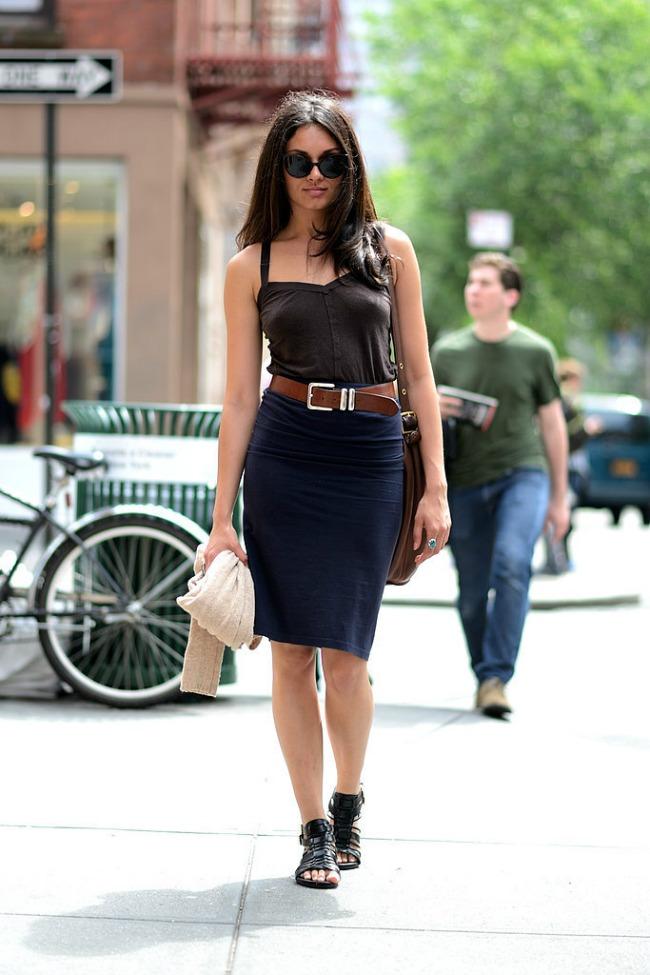 najnoviji street style trend brusa bez majica Najnoviji trend: Brusa bez!